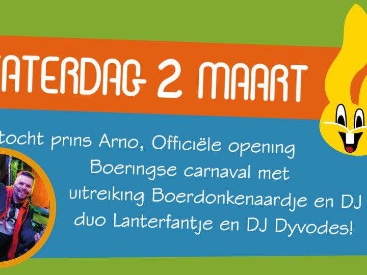 Carnaval in Boerdonk: de zaterdag