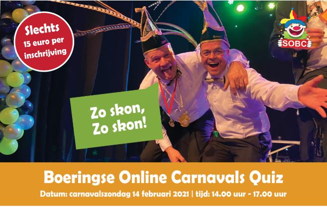 De Boeringse Carnavalsquiz!!