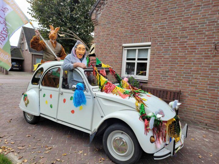 Promotieteam Zandhazen onderweg naar nieuwe Prins!